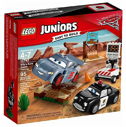 LEGO Juniors - O Treino de Velocidade de Willy's Butte - 10742