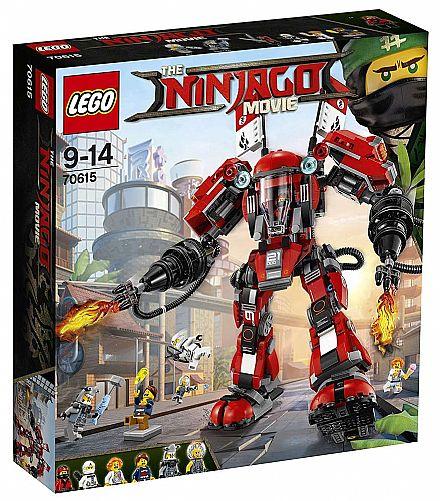 LEGO Ninjago - Robô de Fogo - 70615