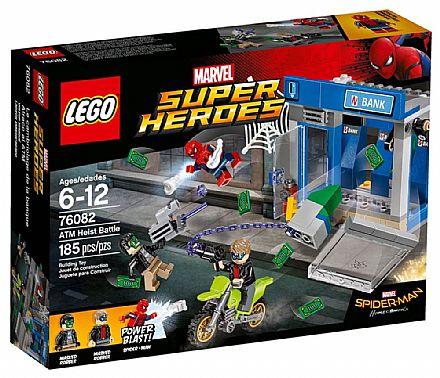 LEGO Super Heroes - Combate no Caixa Eletrônico - 76082