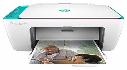 Multifuncional HP DeskJet Ink Advantage 2676 - USB, Wi-Fi - Impressora, Copiadora e Scanner - Y5Z00A