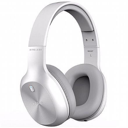 Fone de Ouvido Bluetooth Edifier W800BT - com Microfone embutido e Conexão P2 - Branco