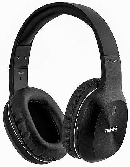 Fone de Ouvido Bluetooth Edifier W800BT - com Microfone embutido e Conexão P2 - Preto