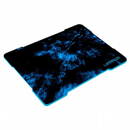 Mouse Pad Gamer Multilaser Warrior - 250 x 340mm - Azul - AC288