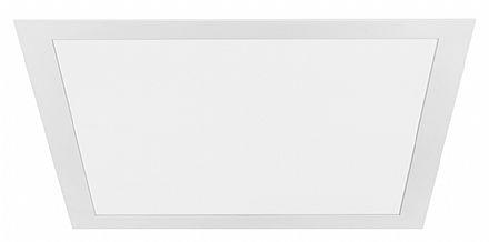 Painel SLIM Embutido Stella LED 30W - Quadrado 40x40cm - Bivolt - Cor 5700K Branco Frio - 2000 Lumens - STH7957/57