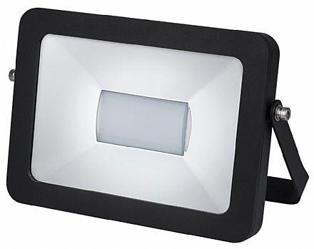 Projetor LED 10W Stella - Bivolt - Cor 3000K Branco Quente - 650 Lumens - Preto - STH6751/30