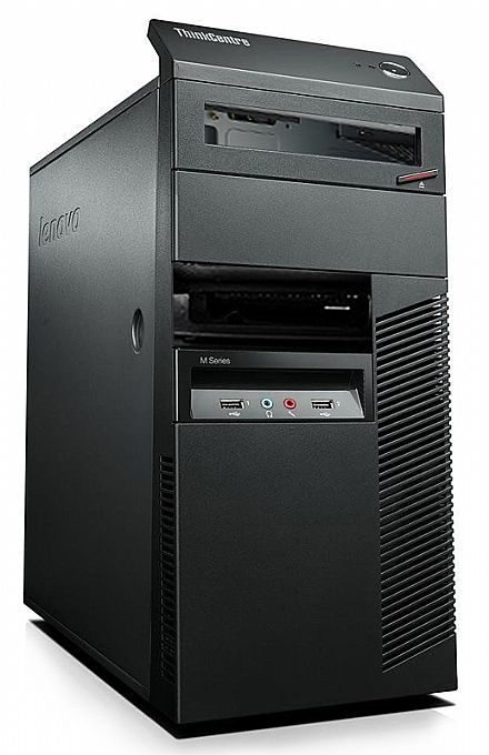 Gabinete Lenovo ThinkCentre M Series - USB 3.0 - Preto - Open Box (Exclusivo p/ produtos Lenovo)