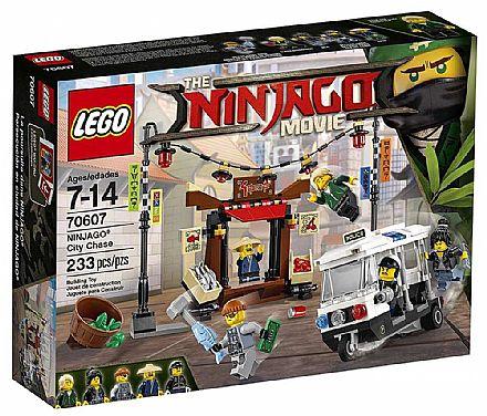 LEGO Ninjago - Perseguição na Cidade de NINJAGO - 70607
