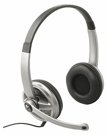Headset Logitech ClearChat Premium - Conector 3.5mm - 981-000084