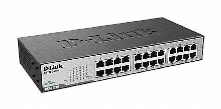 Switch 24 portas D-Link DES-1024D - 10/100 Mbps