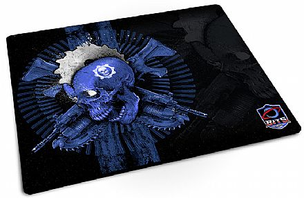 Mouse Pad Bits Gamer Gears of War - 250 x 360mm - Grande