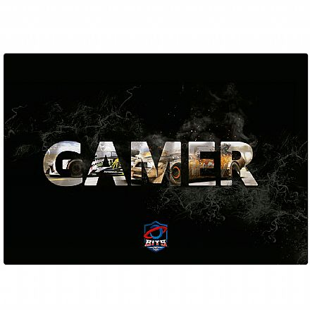 Mouse Pad Bits Gamer Speed - 250 x 360mm - Grande