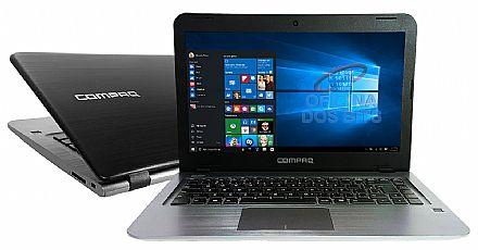 "HP Compaq Presario CQ17 - Tela 14"" HD, Intel® Celeron® Dual Core, 4GB, HD 500GB, Leitor de Digital, Windows 10"