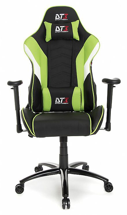 Cadeira Gamer DT3 Sports Elise Light Green - Encosto Reclinável de 180º - Construção em Aço - 10227-2