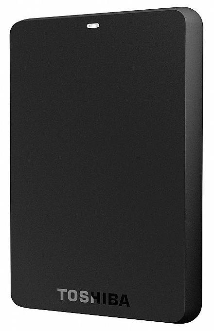 HD Externo Portátil 1TB Toshiba Canvio Basics - USB 3.0 - HDTB410XK3AA