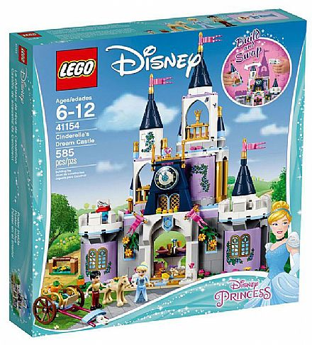LEGO Disney Princess - O Castelo do Sonhos da Cinderela - 41154