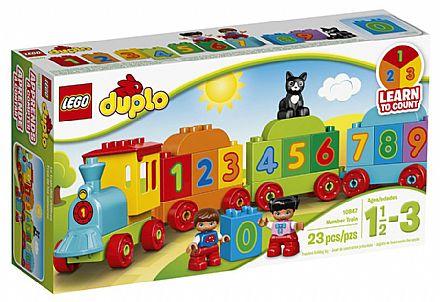 LEGO Duplo - O Trenzinho dos Números - 10847