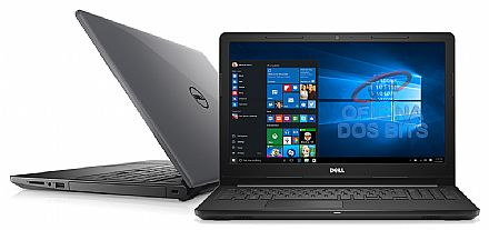 "Dell Inspiron i15-3567-A30C - Tela 15.6"" HD, Intel i5 7200U, 8GB, HD 1TB, Intel HD Graphics 620, Windows 10 - Cinza"