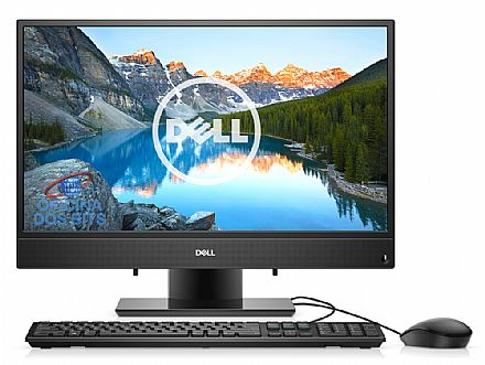 "Computador All in One Dell Inspiron 22 iOne-3277-D10 - Tela 21.5"" Full HD, Intel i3 7100U, 4GB DDR4, HD 1TB, Linux, Teclado e Mouse - Outlet"