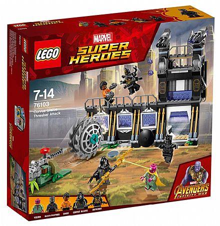 LEGO Marvel Super Heroes - Ataque Avassalador de Corvus Glaive - 76103