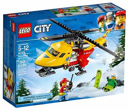 LEGO City - Helicóptero Ambulância - 60179