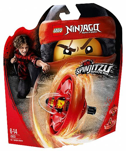 LEGO Ninjago - Kai - Mestre de Spinjitzu - 70633