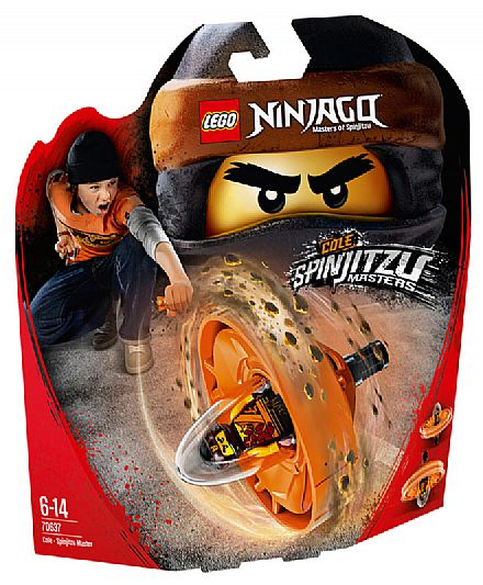 LEGO Ninjago - Cole: Mestre de Spinjitzu - 70637