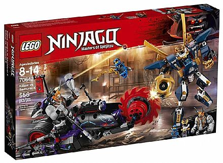 LEGO Ninjago - Killow vs. Samurai X - 70642