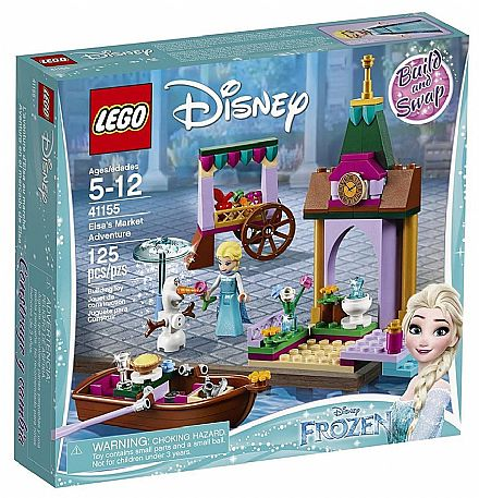 LEGO Princesas Disney - A Aventura da Elsa no Mercado - 41155