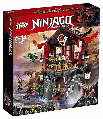LEGO Ninjago - Templo da Ressurreição - 70643