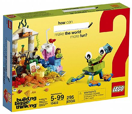 LEGO Building Bigger Thinking - Mundo Divertido - 10403