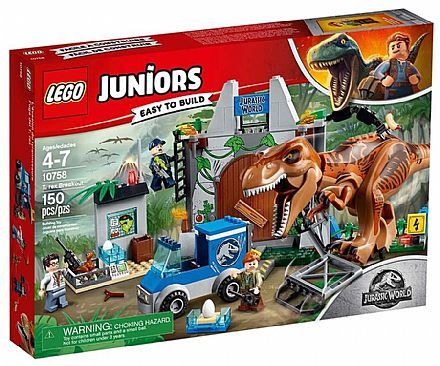 LEGO Juniors Jurassic World - Fuga de T-Rex - 10758