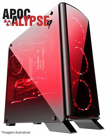 PC Gamer Bits Apocalypse 9 - Intel® i7 8700, 16GB, HD 1TB, Geforce RTX 2070 8GB