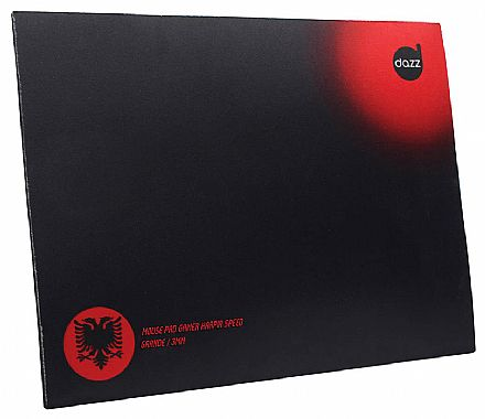 Mouse Pad Harpia Speed Dazz - Médio - 400 x 320 mm - DZ-621853