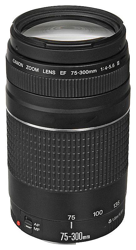 Lente EF 75-300mm para Canon - F/4-5.6 III USM