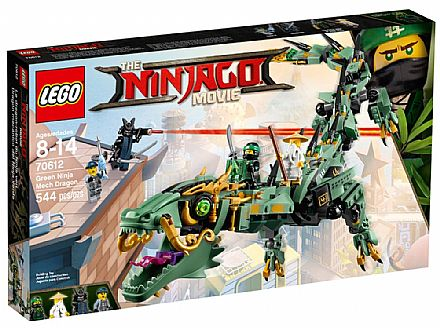 LEGO Ninjago - Dragão do Ninja Verde - 70612