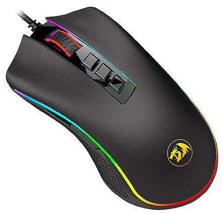 Mouse Gamer Redragon King Cobra Chroma - 24000dpi - 7 Botões Programáveis - com LED RGB - M711-FPS
