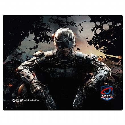 Mouse Pad Bits - 220 x 175 x 2mm - Call of Duty