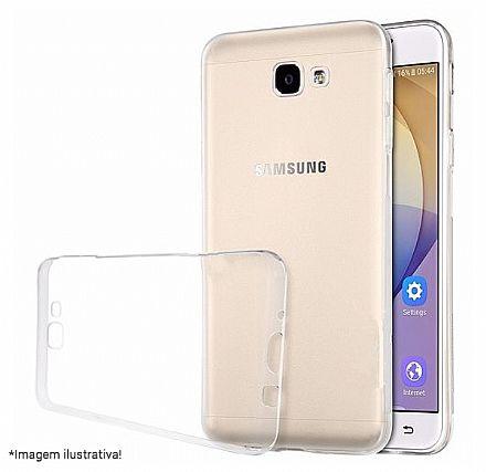 Capa de Silicone para Samsung Galaxy J5 Prime G570 - Transparente