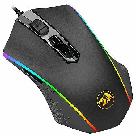Mouse Redragon Memeanlion Chroma M710 - 10000dpi - 8 Botões - Ajuste de Peso - Iluminação RGB