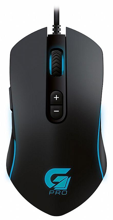 Mouse Gamer Fortrek Pro M7 - 4800dpi - 8 Botões - LED RGB - 64386