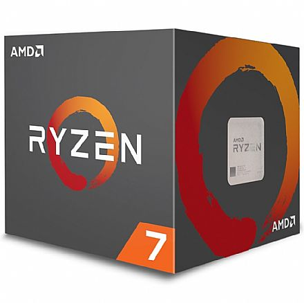 AMD Ryzen™ 7 2700 Octa Core - 16 Threads - 3.2GHz (Turbo 4.1GHz) - Cache 20MB - AM4 - TDP 65W - Wraith Spire Cooler - YD2700BBAFBOX