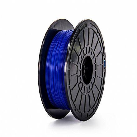 Filamento para Impressora 3D FFF - ABS Azul - 0,6Kg - 1,75mm - Flashforge