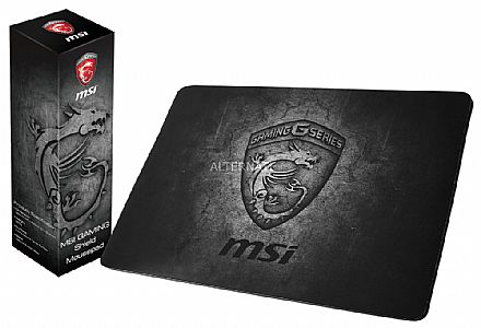 Mouse Pad Gamer MSI Shield Gaming - Grande - 380 x 220 mm