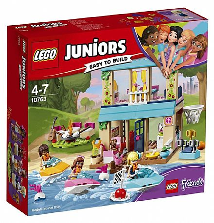 LEGO Friends - A Casa do Lago da Stephanie - 10763
