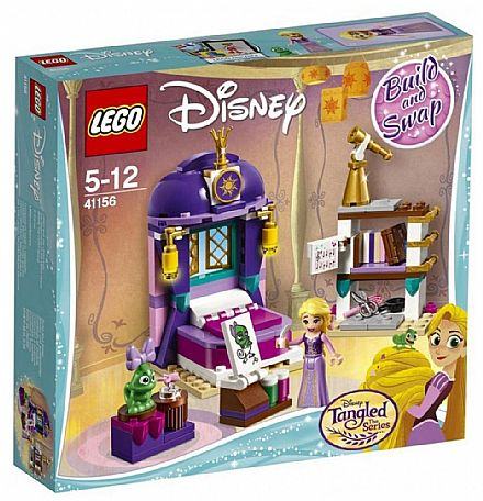 LEGO Princesas Disney - Quarto do Castelo da Rapunzel - 41156
