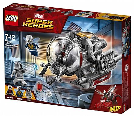 LEGO Marvel Super Heroes - Exploradores do Reino Quântico - 76109