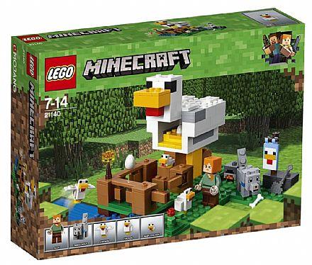 LEGO Minecraft - O Galinheiro - 21140