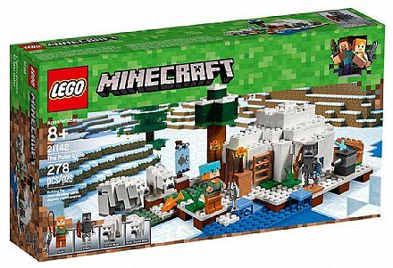 LEGO Minecraft - O Iglu Polar - 21142