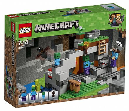 LEGO Minecraft - A Caverna do Zombie - 21141