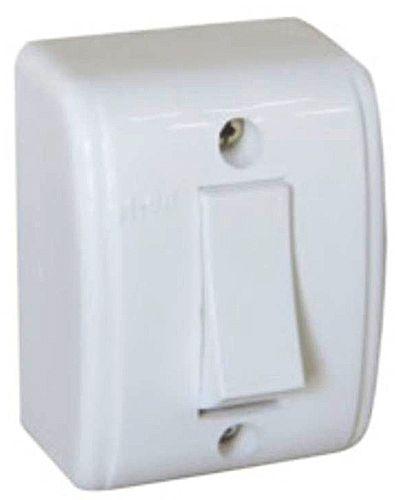 Interruptor de Sobrepor Lorenzetti - 10A - Branco - 1063-B